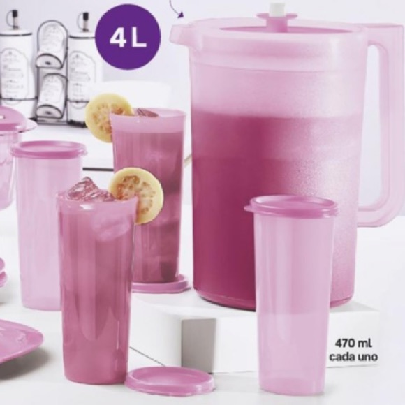 Tupperware Other - NEW Tupperware pitcher and cups